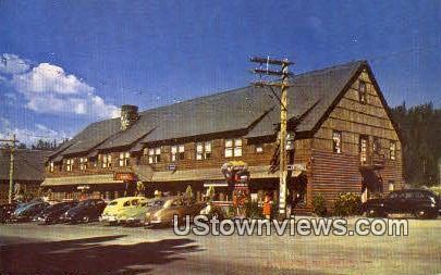 Tahoe Inn - Lake Tahoe, California CA Postcard