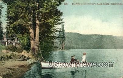 McKinney's - Lake Tahoe, California CA Postcard