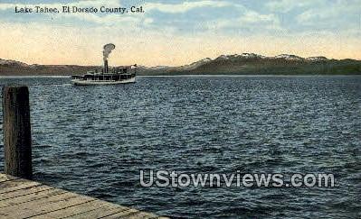 El Dorado County - Lake Tahoe, California CA Postcard