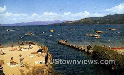 Bijou Park - Lake Tahoe, California CA Postcard