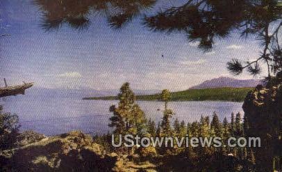 McKinney Bay - Lake Tahoe, California CA Postcard