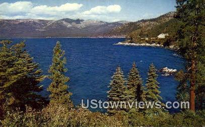 Mt. Rose - Lake Tahoe, California CA Postcard