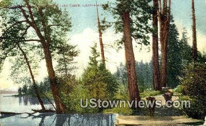 Lake Tahoe - California CA Postcard