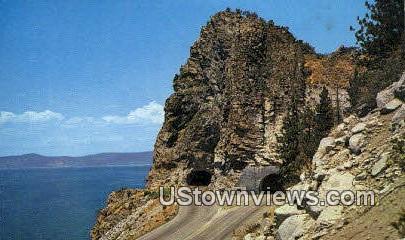 Cave Rock - Lake Tahoe, California CA Postcard