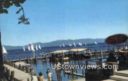 Sunnyside Resort - Lake Tahoe, California CA Postcard