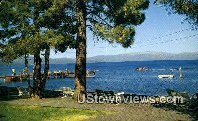 Homewood Resort - Lake Tahoe, California CA Postcard
