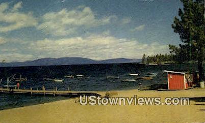 Zephyr Cove - Lake Tahoe, California CA Postcard