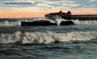 The Breakers - Long Beach, California CA Postcard