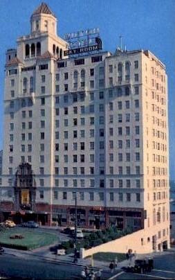 The Wilton Hotel - Long Beach, California CA Postcard