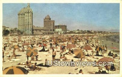 Los Angeles County - Long Beach, California CA Postcard