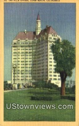 The Villa Riviera - Long Beach, California CA Postcard