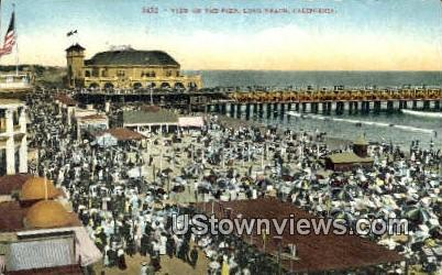 The Pike - Long Beach, California CA Postcard