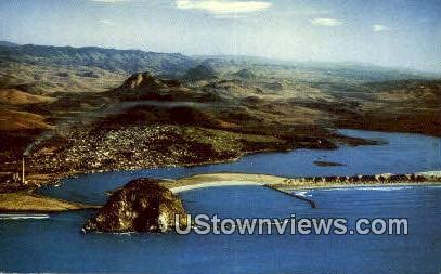 Morro Rock - San Francisco, California CA Postcard