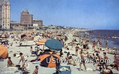 Rainbow Pier - Long Beach, California CA Postcard
