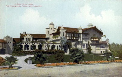 A Californian Home - Los Angeles Postcard