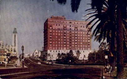 The Town House - Los Angeles, California CA Postcard