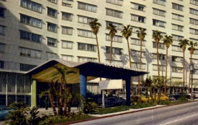 The Statler Hotel - Los Angeles, California CA Postcard