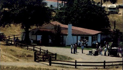 The Reagan's Californian Ranch Retreat - Los Angeles Postcard