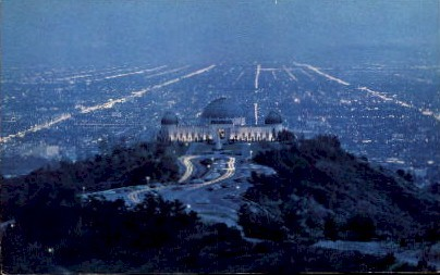 City of Greater Los Angeles - California CA Postcard