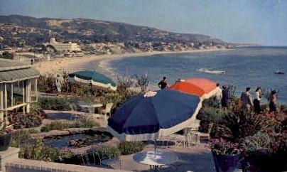 The Victor Hugo Inn - Laguna Beach, California CA Postcard
