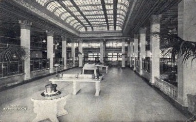 The Merchants National Bank - Los Angeles, California CA Postcard
