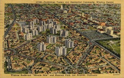 Parklabrea Towers  - Los Angeles, California CA Postcard