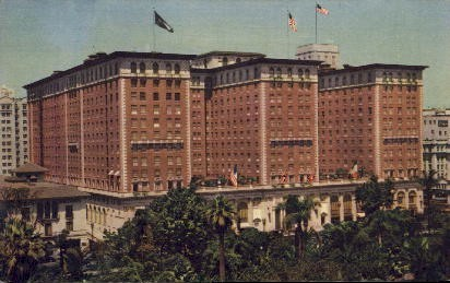 The Biltmore Hotel - Los Angeles, California CA Postcard