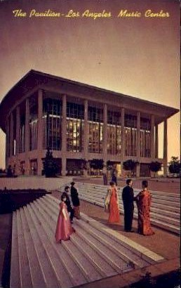 The Pavilion, Music Center - Los Angeles, California CA Postcard