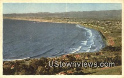 West Coast Beaches - Los Angeles, California CA Postcard