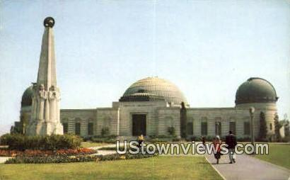 Griffith Observatory & Planetarium - Los Angeles, California CA Postcard