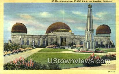 Griffith Park, Planetarium - Los Angeles, California CA Postcard