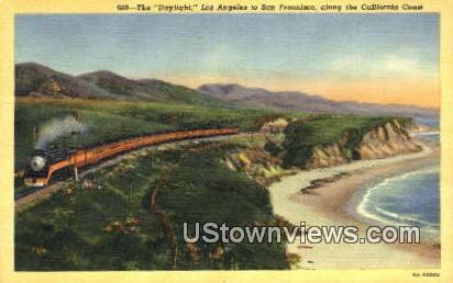 California Coast - Los Angeles Postcard