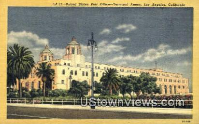 US Post Office, Terminal Annex - Los Angeles, California CA Postcard