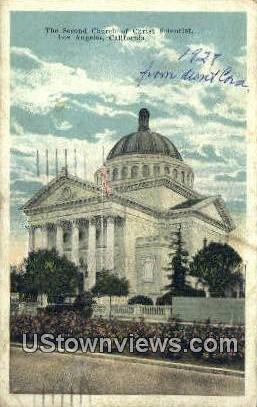 Second Church of Christ Scientist - Los Angeles, California CA Postcard