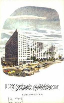 Statler Hilton - Los Angeles, California CA Postcard