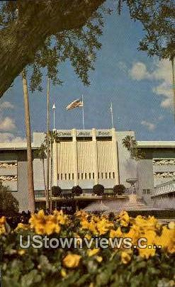 Santa Anita Park - Los Angeles, California CA Postcard