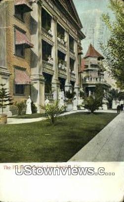 Pacific Hospital - Los Angeles, California CA Postcard