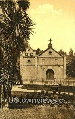 Nuestra Senora De Los Angels - Los Angeles, California CA Postcard