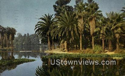 Eecho Park - Los Angeles, California CA Postcard