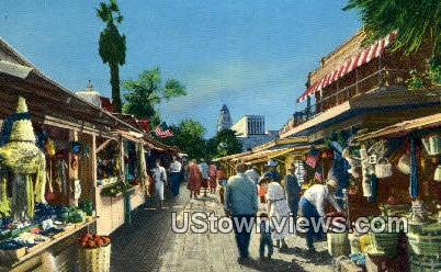 El Paso De Los Angeles - California CA Postcard
