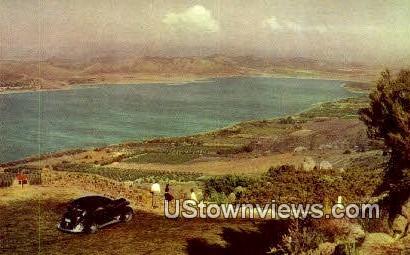 Lake Elsinore - Los Angeles, California CA Postcard