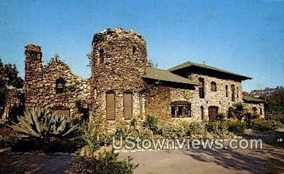 Lummis Home - Los Angeles, California CA Postcard