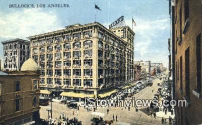 Bullock's - Los Angeles, California CA Postcard