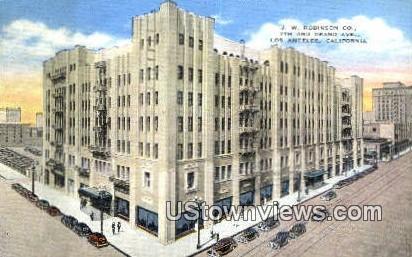 JW Robinson Co. - Los Angeles, California CA Postcard