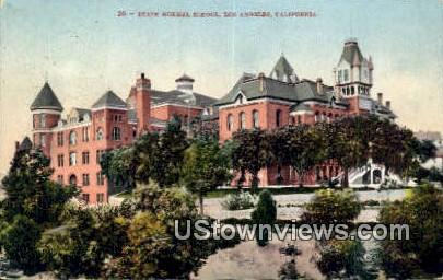 State Normal School - Los Angeles, California CA Postcard