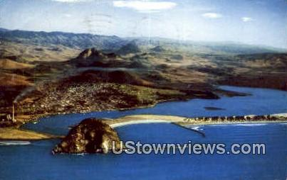 Morro Rock, Morro Bay - Los Angeles, California CA Postcard