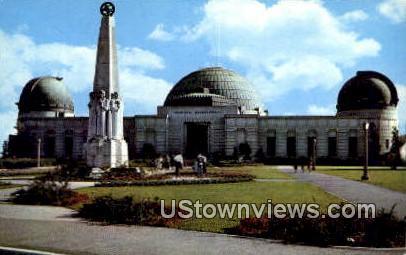 Planetarium & Observatory - Los Angeles, California CA Postcard