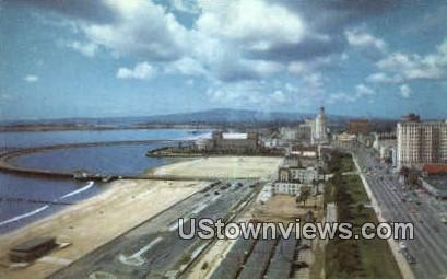 Long Beach - Los Angeles, California CA Postcard