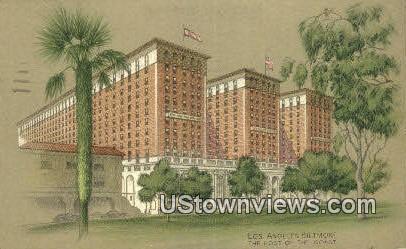 Los Angeles Biltmore - California CA Postcard