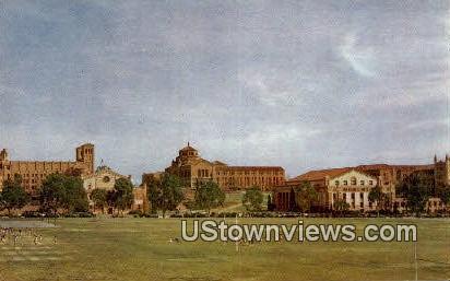 UCLA - Los Angeles, California CA Postcard